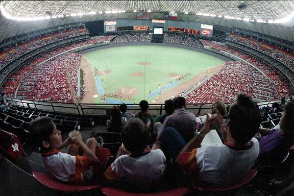 Astros vs. Dodgers at the Astrodome, June 28, 1986.