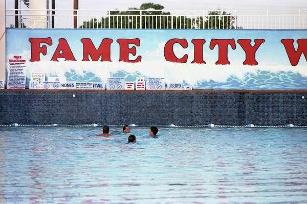 Fame City amusement center and waterpark, 13700 Beechnut, on June 4, 1986.