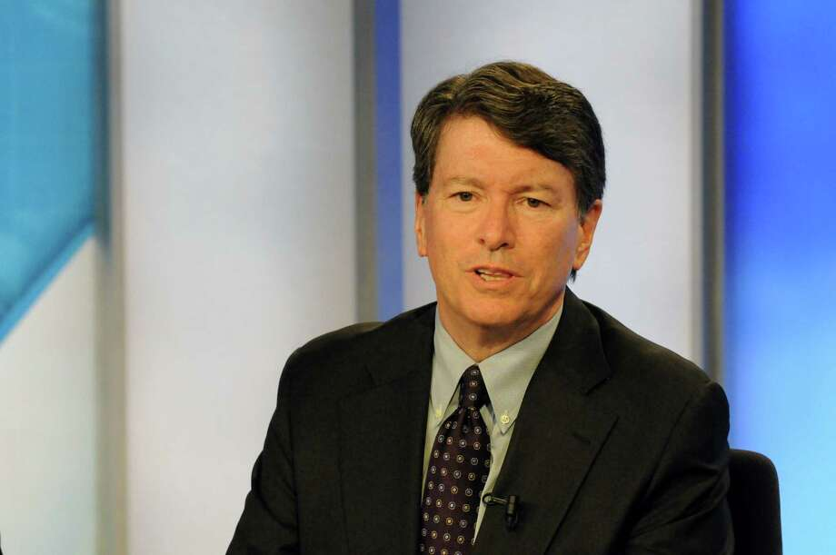 John Faso, Republican candidates for the 19th Congressional District seat, debates Andrew Heaney on Capital Tonight at the TWC News studios on Thursday June 16, 2016 in Albany, N.Y. (Michael P. Farrell/Times Union) Photo: MICHAEL P. FARRELL / 40036991A
