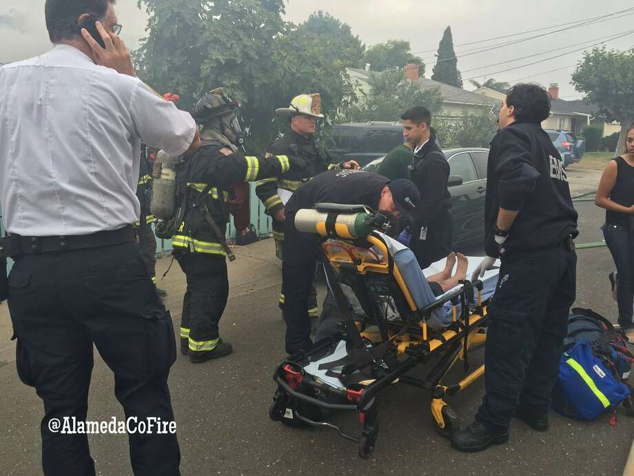 A 16-year-old girl was badly burned in a fire in Hayward on Wednesday June 29, 2016. Her two brothers were less seriously injured. Photo: Alameda County Fire Department / Alameda County Fire Department