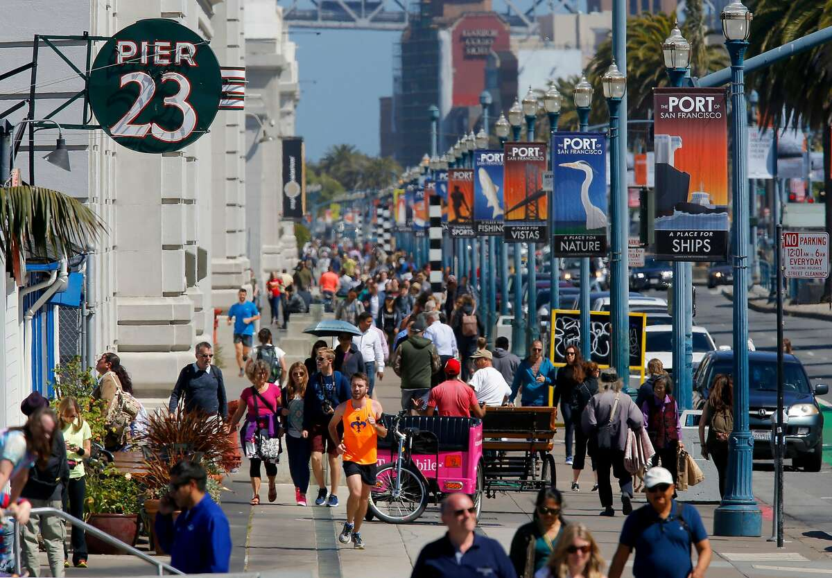"""""""The Embarcadero is great now since the freeway is gone."""" The Embarcadero is now one of the most enjoyable destinations in the city whereas when the freeway was around, it used to be, as one Reddit user says, """"dark, dangerous and dirty."""""""