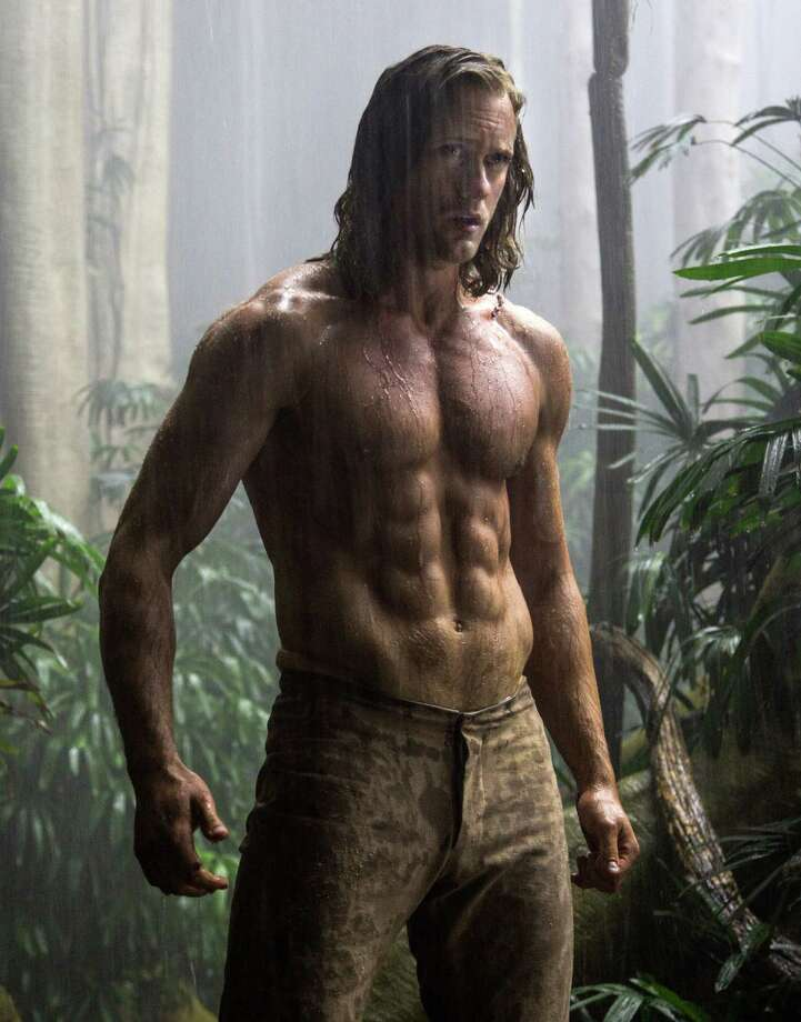 "This image released by Warner Bros. Entertainment shows Alexander Skarsgard from ""The Legend of Tarzan."" (Jonathan Olley/Warner Bros. Entertainment via AP) Photo: Jonathan Olley, HONS / Associated Press / Warner Bros. Entertainment"