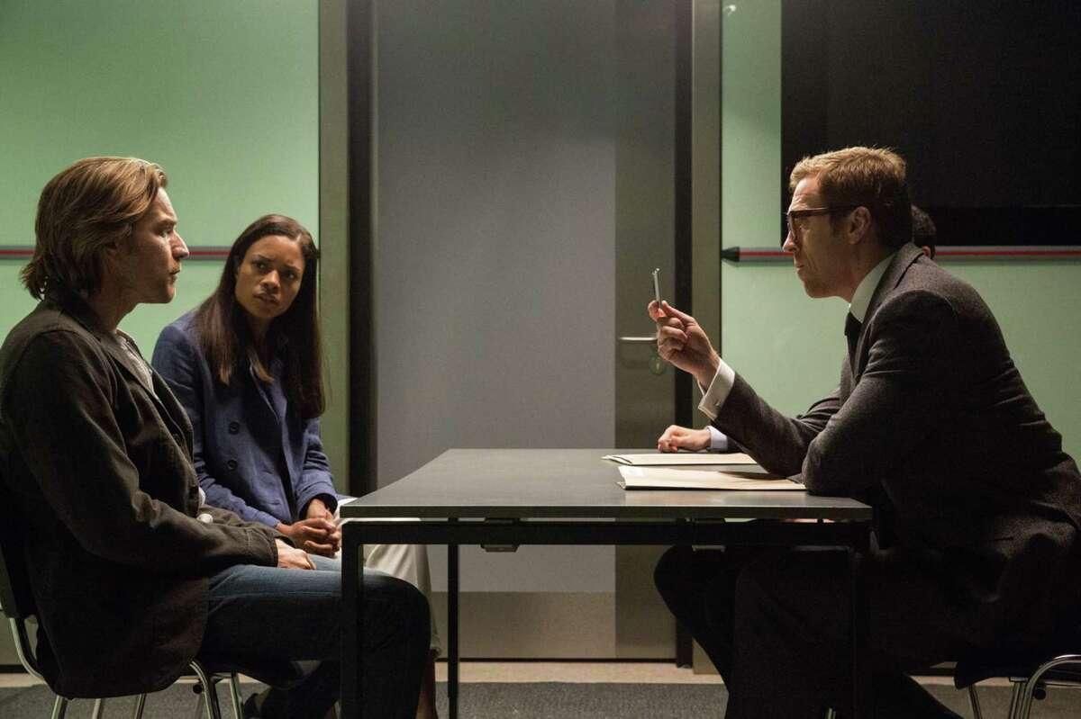 "Ewan McGregor, Naomie Harris, and Damian Lewis in ""Our Kind of Traitor."" (Jaap Buitendijk/StudioCanal)"