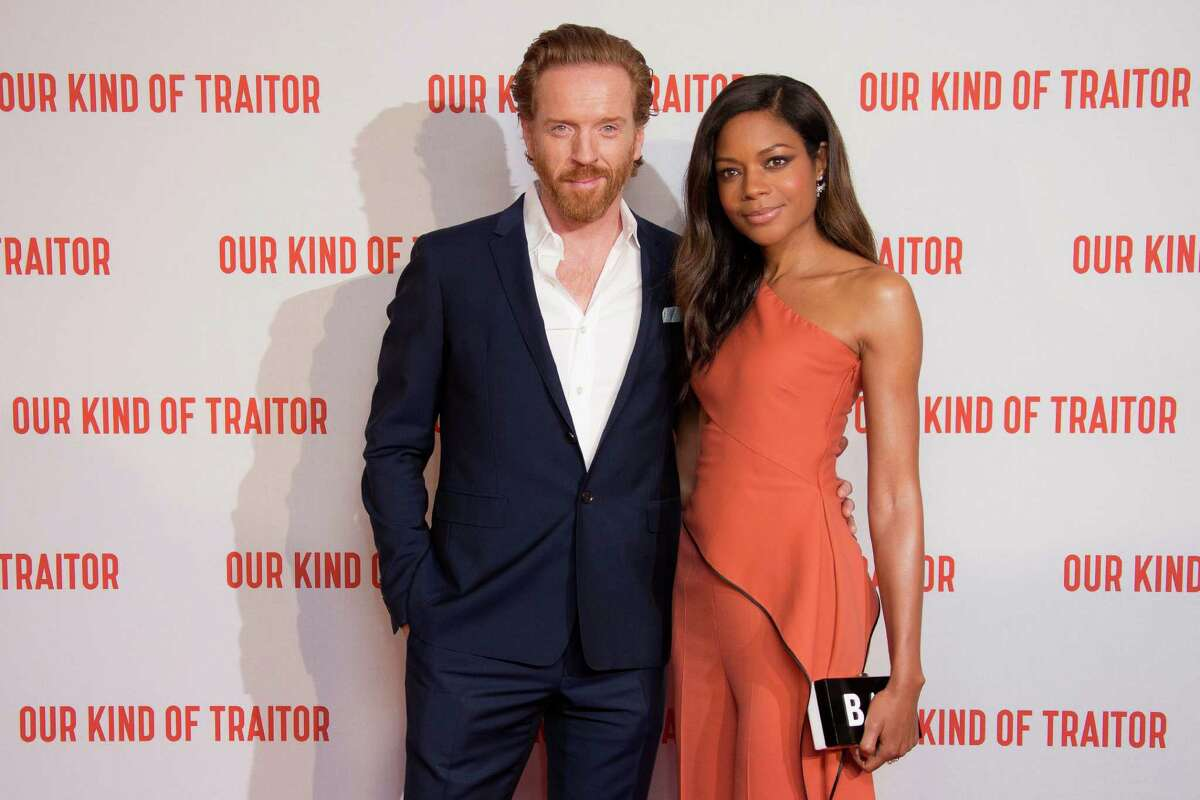 Actors Damian Lewis and Naomie Harris pose for photographers upon arrival at the UK Gala Premiere of Our Kind Of Traitor, at a central London hotel, Thursday, May 5, 2016. (Photo by Joel Ryan/Invision/AP)