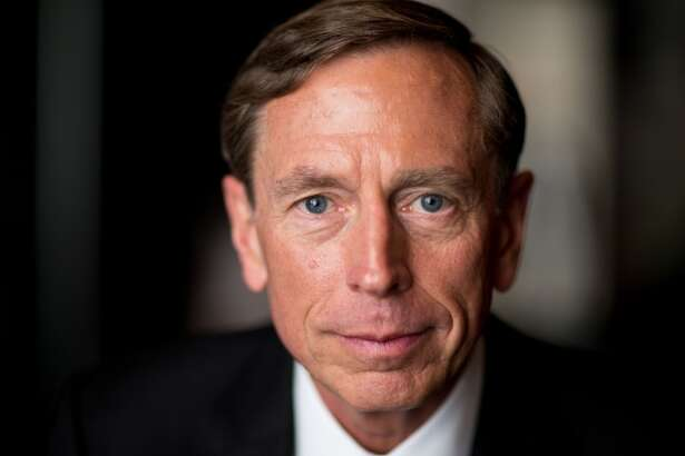 NEW YORK-- JULY 22: Former Director of the Central Intelligence Agency (DCIA) under President Barack Obama, Gen. David Petraeus interviewed for the documentary, 'The Spymasters,' about CIA Directors for CBS/Showtime.