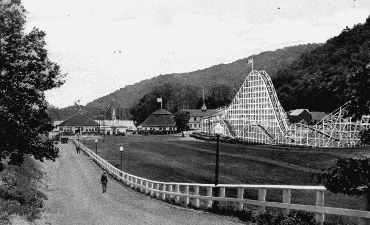 Vintage photo of Lake Compounce in Brisol, Conn.