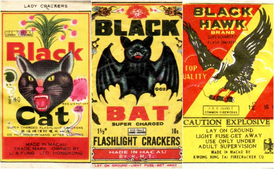 Click through to see even more vintage firecracker labels....Jeff Staton is a fan of vintage firecracker packaging art and has collected hundreds of examples of labels from around the world.The labels range from the fantastical to the absurd. Most are crudely drawn with animal motifs or carry patriotic themes. Staton collects most firecracker packages from before 1972. The California native says that he started collecting the labels as a kid, keeping the labels he found on the beach the day after Independence Day.