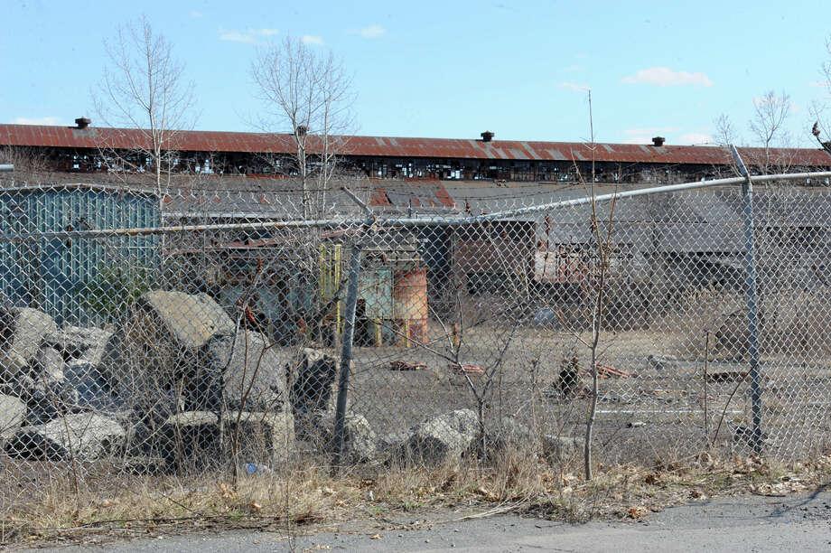 Buildings in the former Al Tech Specialty Steel site on Tuesday, March 22, 2016 in Colonie, N.Y.  (Lori Van Buren / Times Union) Photo: Lori Van Buren / 10035929A