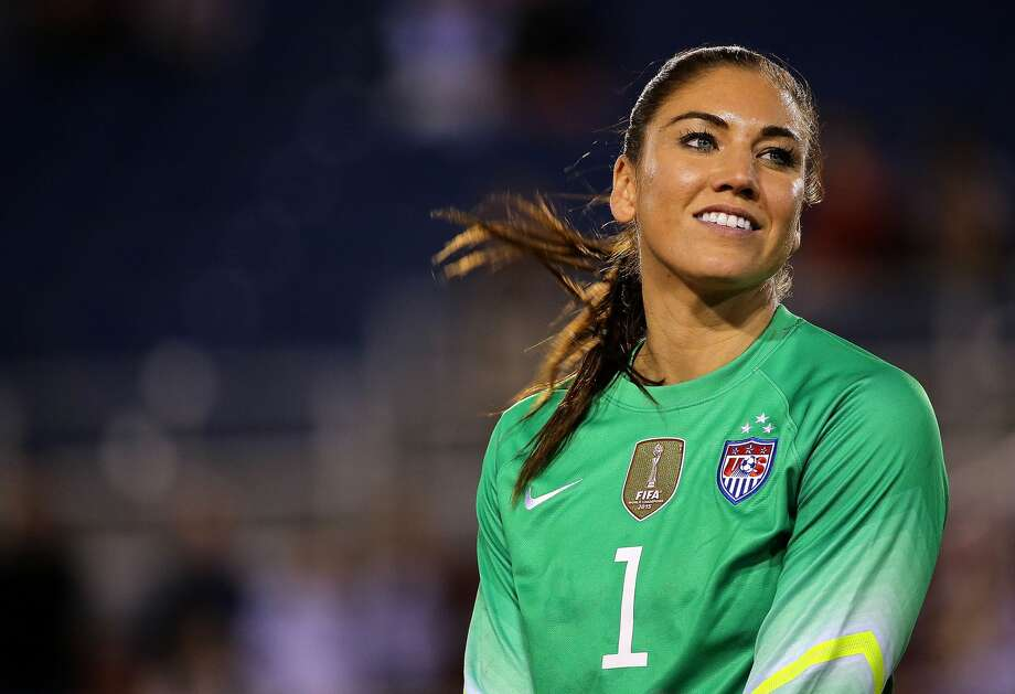 Seattle Reign and U.S. women's national team goalkeeper and former Washington Huskies star Hope Solo was featured on the cover of the 2011 Body Issue. Photo: Mike Ehrmann/Getty Images