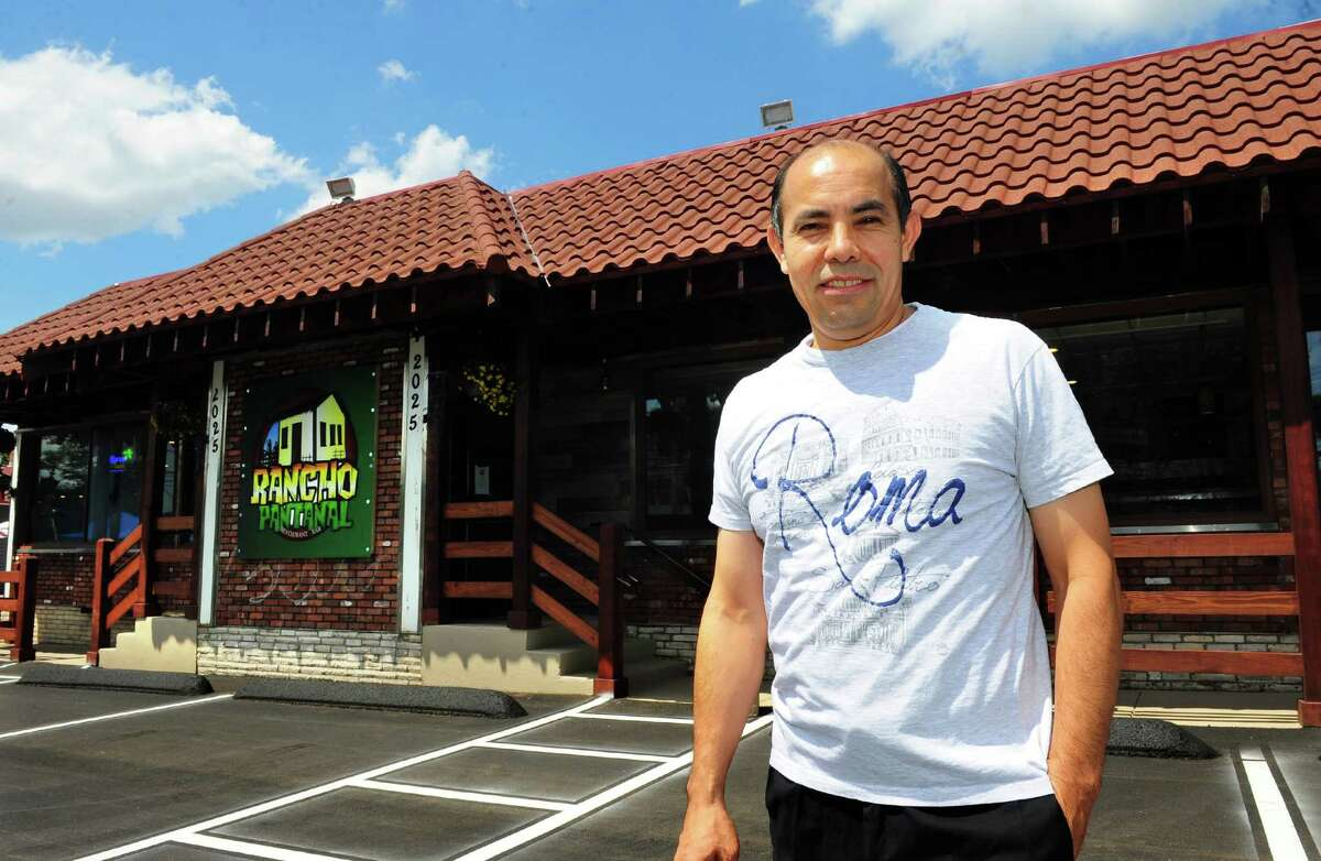 June 2016 - Owner Manny Olivares poses at Rancho Pantanal, a new Brazilian restaurant which opens Friday on Boston Post Road in Bridgeport, Conn., on Wednesday June 29, 2016. Read more.