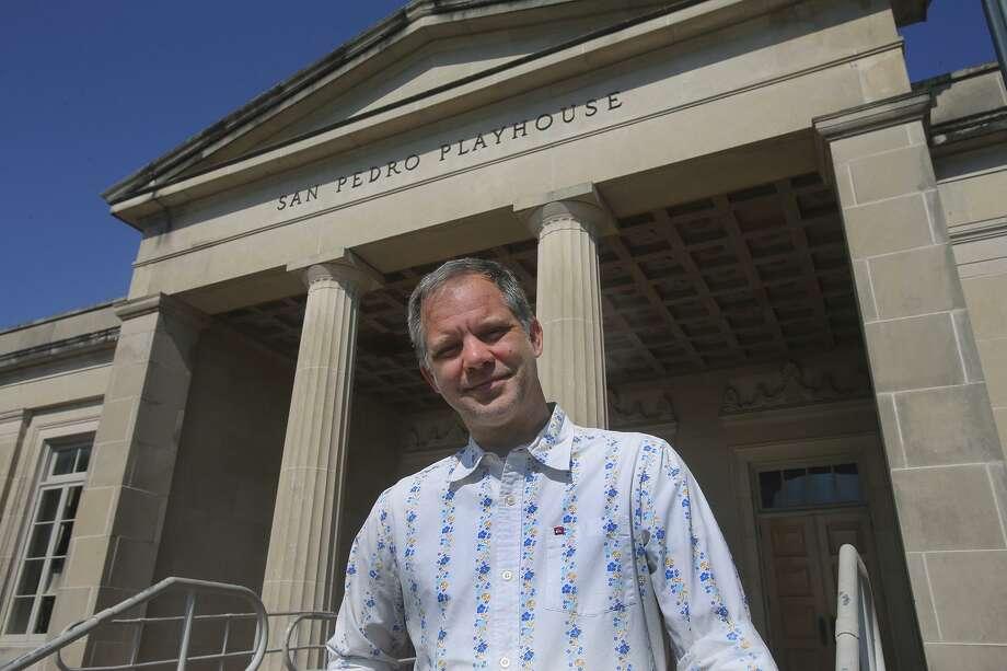 George Green is the CEO and artistic director of The Playhouse San Antonio.  Photo: John Davenport /San Antonio Express-News / ©San Antonio Express-News/John Davenport
