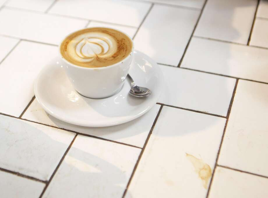 A latte waits for customer pick-up on Thursday, June 30, 2016 at the The Mill in San Francisco, California. San Francisco has been on the forefront of the push to raise minimum wage levels, but the push to raise wages for the worst-paid workers may mean more elsewhere. Photo: Michael Noble Jr., The Chronicle