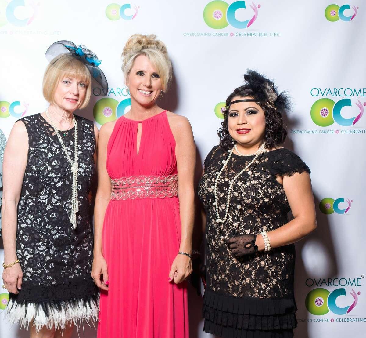Liz Stegall, Karen Shayne, and Nancy Hernandez