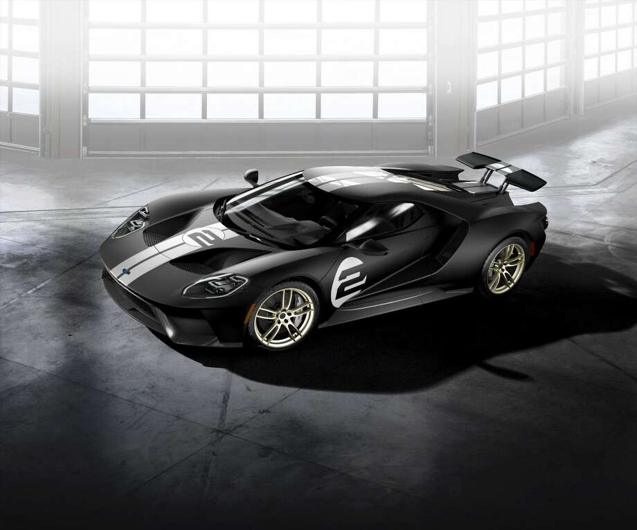 All New Ford Gt  Heritage Edition With Unique Black And Silver Stripe