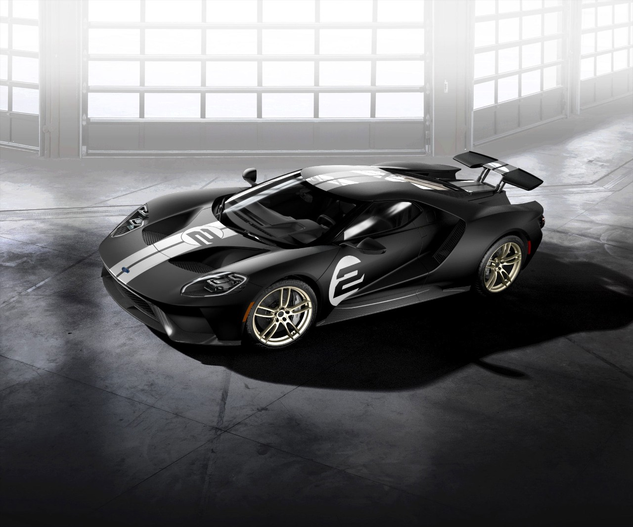 The new 2017 Ford GT '66 Heritage Edition