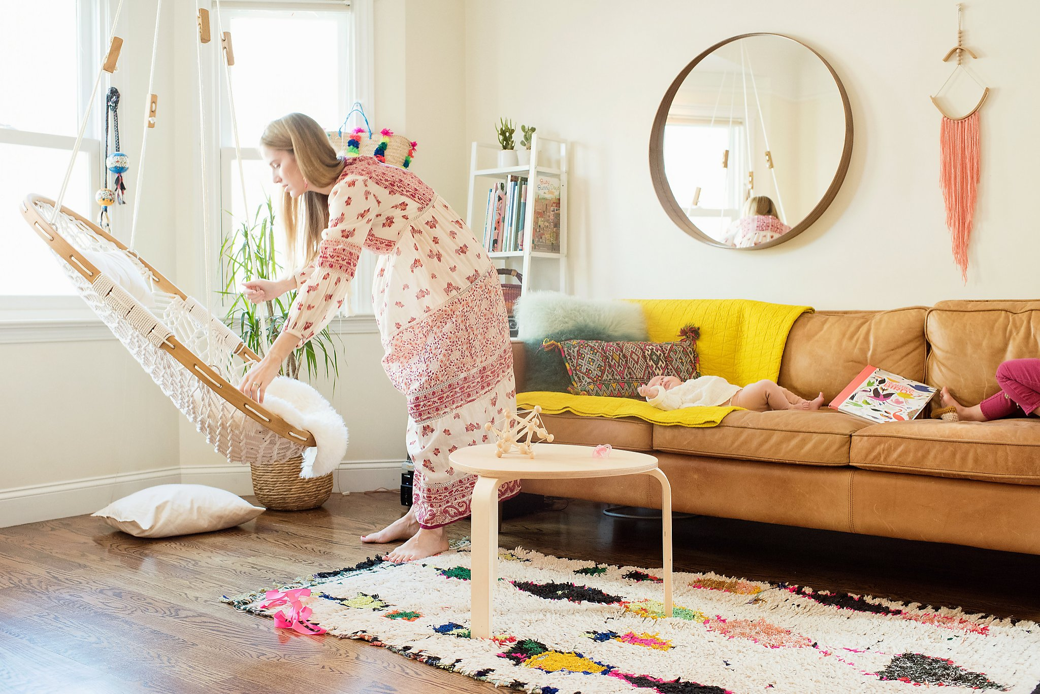Inside The Colorful Home And World Of Chloe Fleury