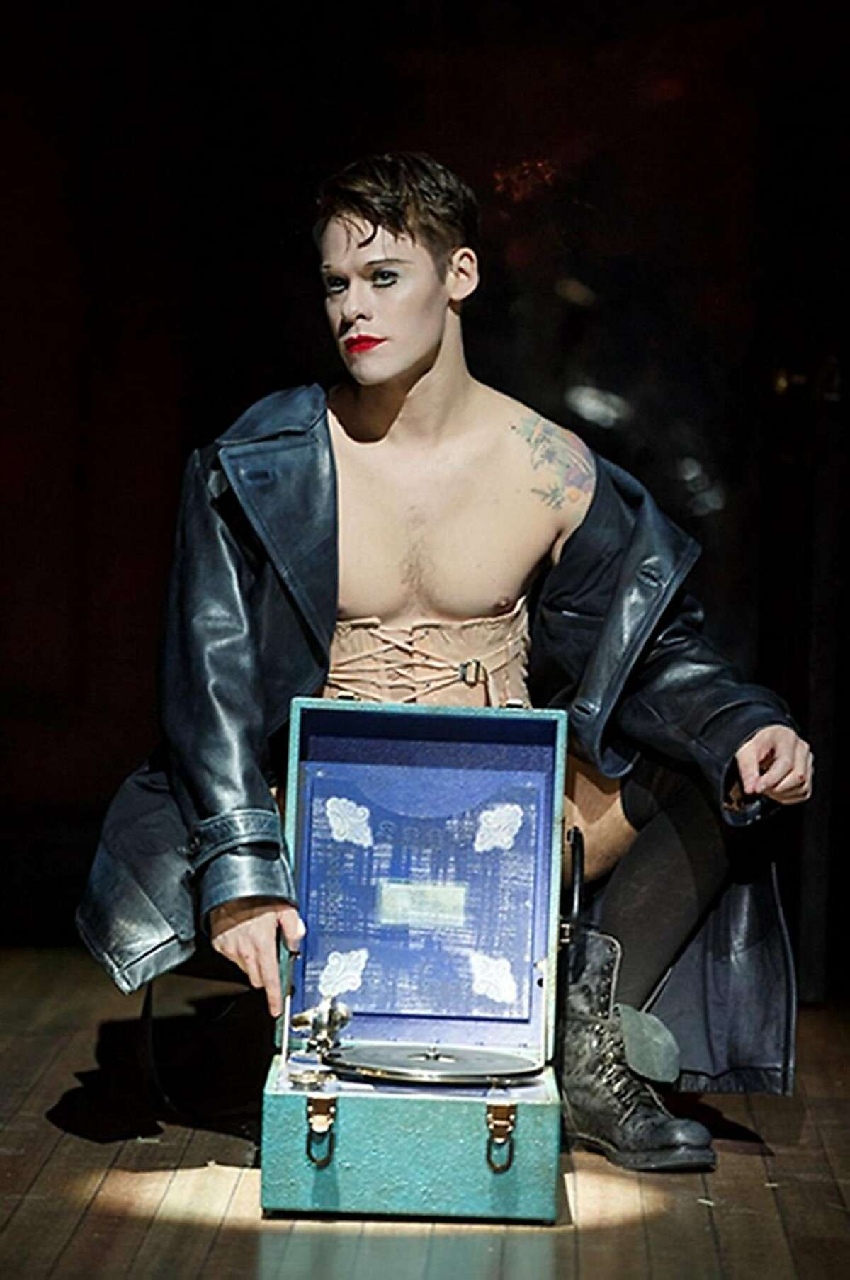 UNSPECIFIED LOCATION - UNSPECIFIED DATE: In this handout photo provided by Joan Marcus, Randy Harrison as the Emcee in the National Tour of Roundabout Theatre Company's CABARET. Photo by Joan Marcus. The musical theater performance comes direct from Broadway to the Adrienne Arsht Center for the Performing Arts of Miami-Dade County, April 12 - 17, 2016. (Photo by Joan Marcus via Getty Images)