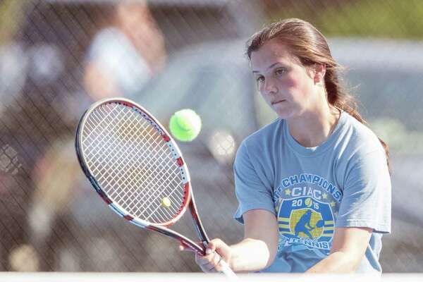 Darien's Kateri Martin is the Hearst Connecticut Media 2016 Girls Tennis MVP.