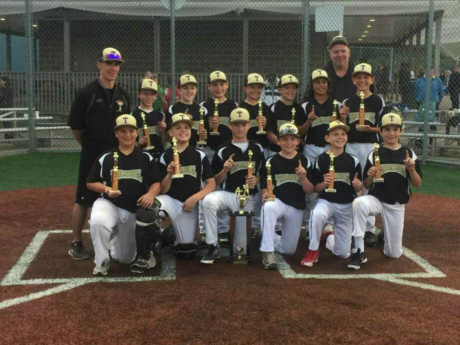 The Trumbull 11U Travel Baseball Team Won Its Third Consecutive East Shore League AAU Championship