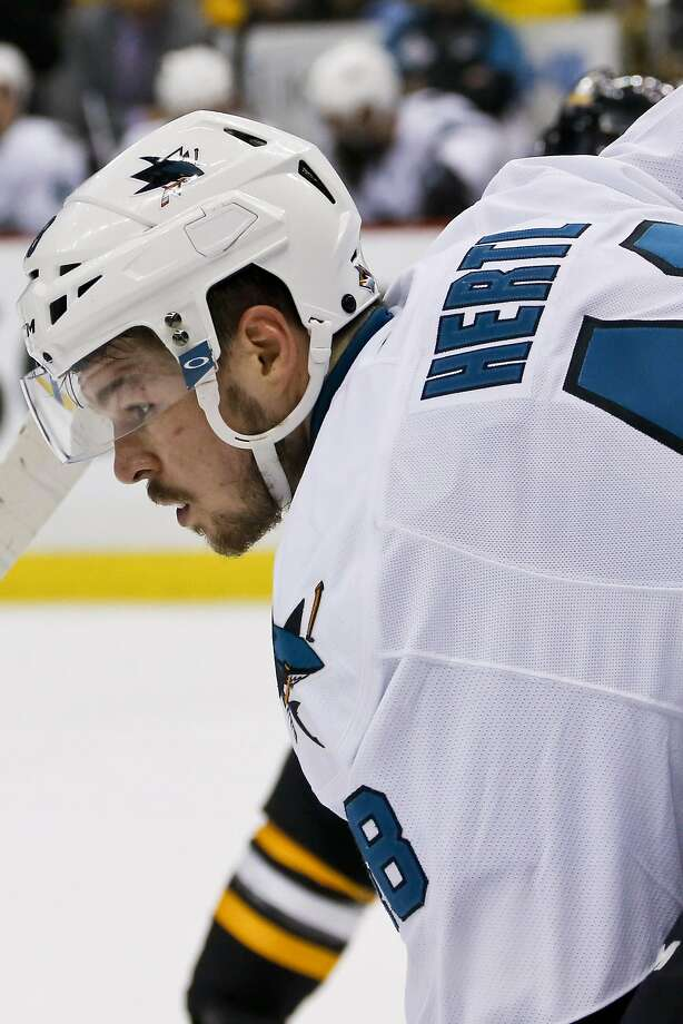 Tomas Hertl expects to be at full strength for next season. Photo: Keith Srakocic, Associated Press