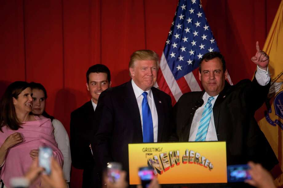 New Jersey Gov. Chris Christie has emerged as one of the most influential advisers to Donald Trump and is a leading contenders to be his running mate. Photo: ERIC THAYER, STR / NYTNS