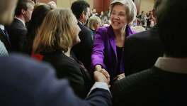 Sen. Elizabeth Warren, D-Mass., is prompting more speculation that she will be the Democrats' vice presidential pick. This excites many because she gives better than she gets when it comes to Donald Trump.
