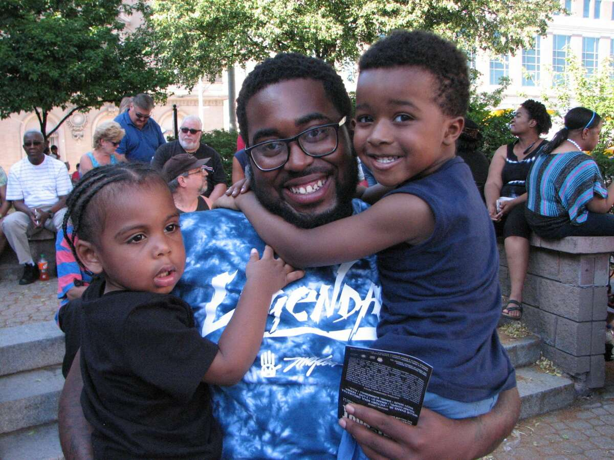 Were you Seen at Alive at Five watching The Chronicles play the music of Earth, Wind and Fire with opening act Thump Gospel playing Michael Jackson music at Tricentennial Park, Broadway and Columbia Street in downtown Albany on Thursday, June 30, 2016?