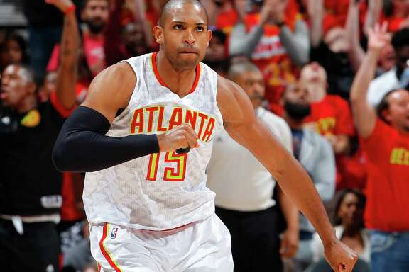 Al Horford is atop the Rockets' wish list of players to sign, but he may well stay in Atlanta.