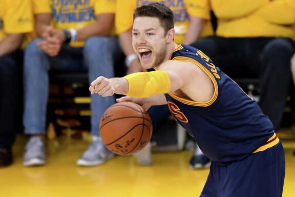 Although a backup for the NBA champion Cavaliers, guard Matthew Dellavedova likely will command a $10 million annual salary for next season.
