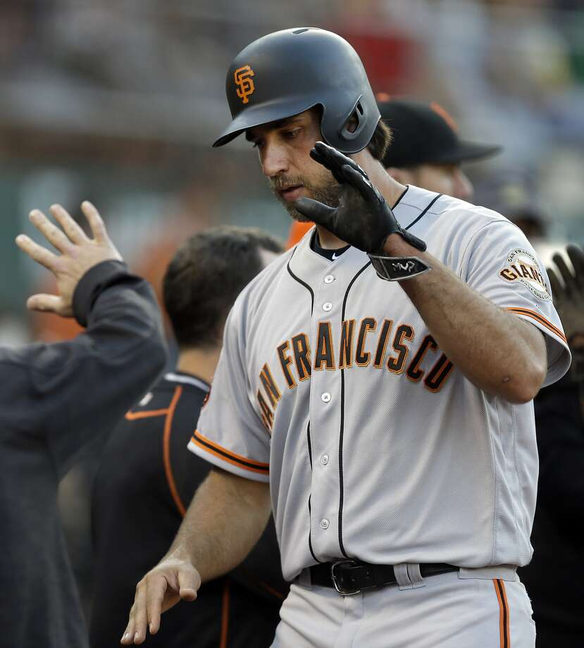 If Madison Bumgarner does not pitch in the All-Star Game on July 12, he might get an additional start for the Giants. Photo: Ben Margot, Associated Press