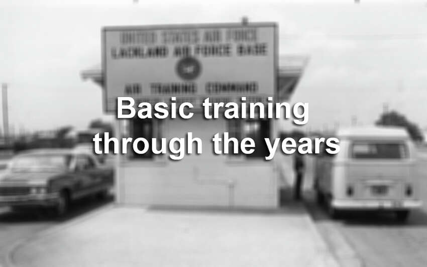 Click through the gallery to see photos from basic training at Lackland Air Force Base through the years.