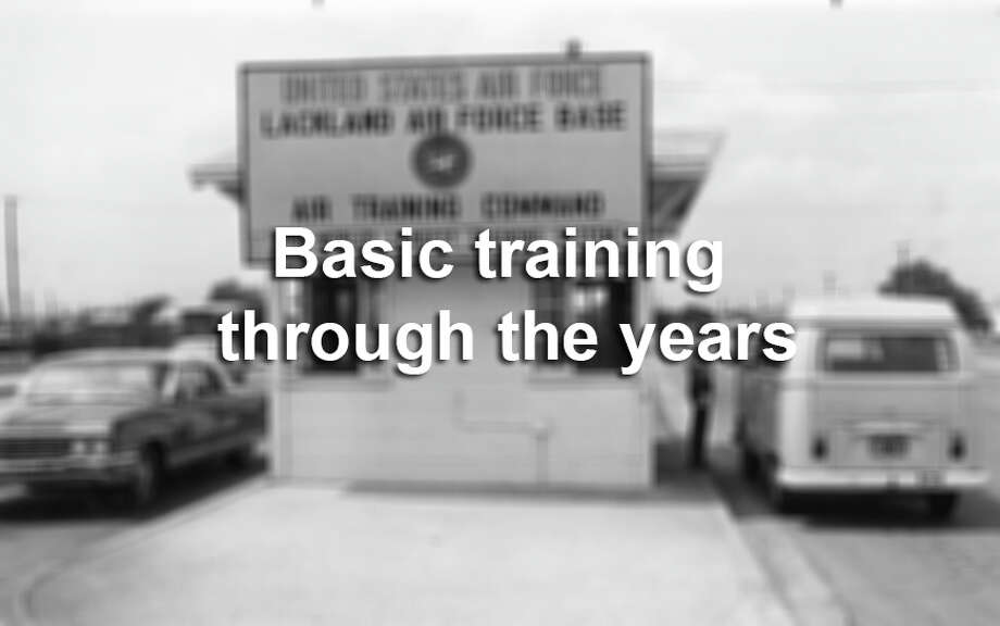 Click through the gallery to see photos from basic training at Lackland Air Force Base through the years. Photo: Express-News