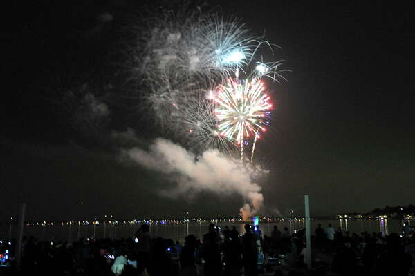 FILE PHOTO: Scenes from the Independence Day celebrations at Cummings Park Park beach in Stamford, Conn., on Thursday, July 2, 2015.