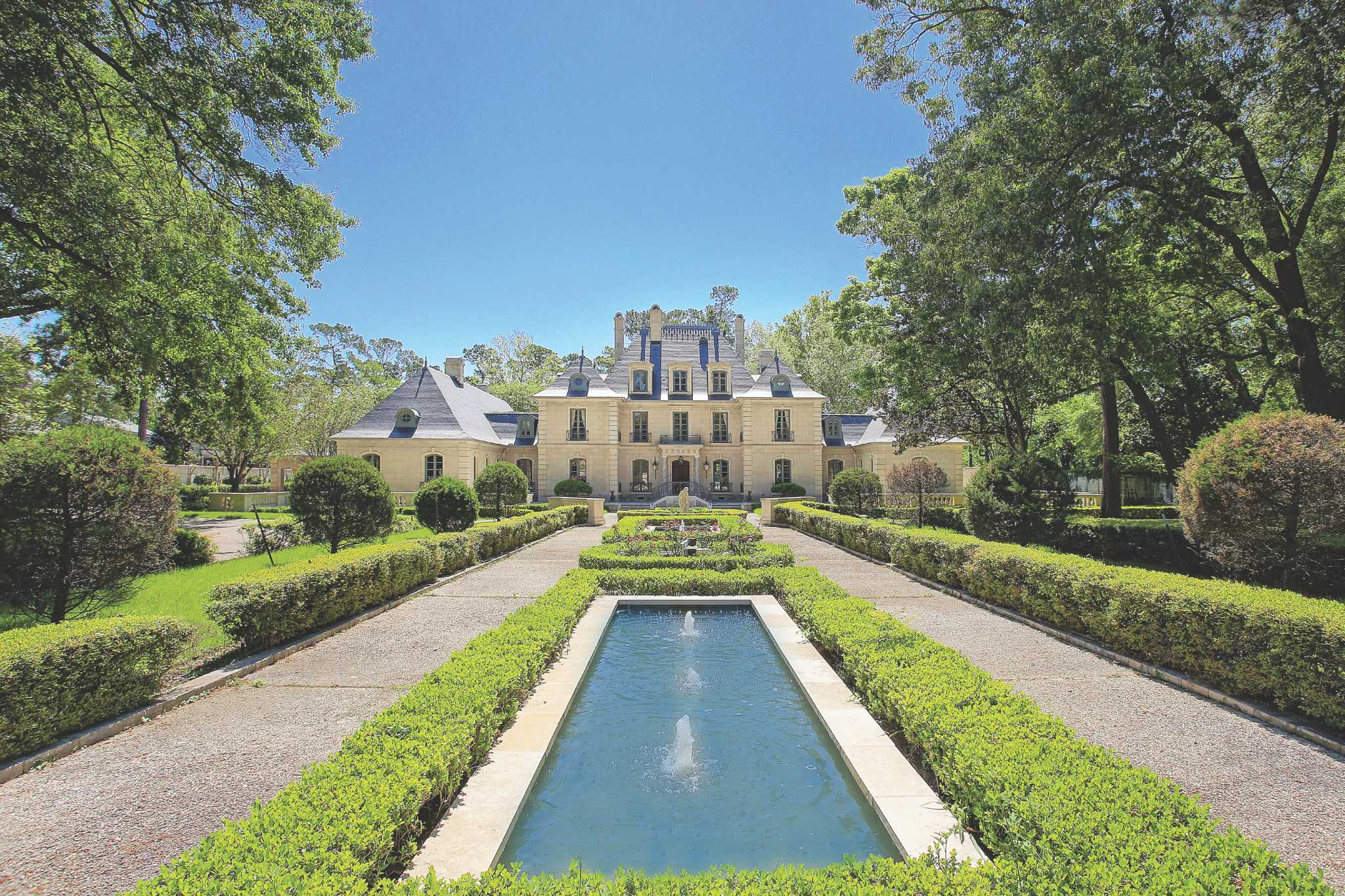 Prime property french chateau style home 2 plus acres has for French chateau style homes for sale