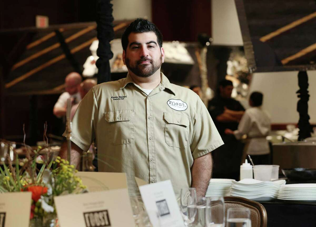 """Kevin Naderi, of Roost, will compete on """"Beat Bobby Flay"""" on July 28. 8th Wonder Brewery will hold a viewing party."""