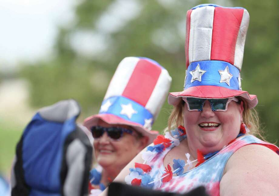 There will be ample opportunity to celebrate the Stars and Stripes over the long Fourth of July weekend. Photo: Jon Shapley, Staff / © 2015 Houston Chronicle