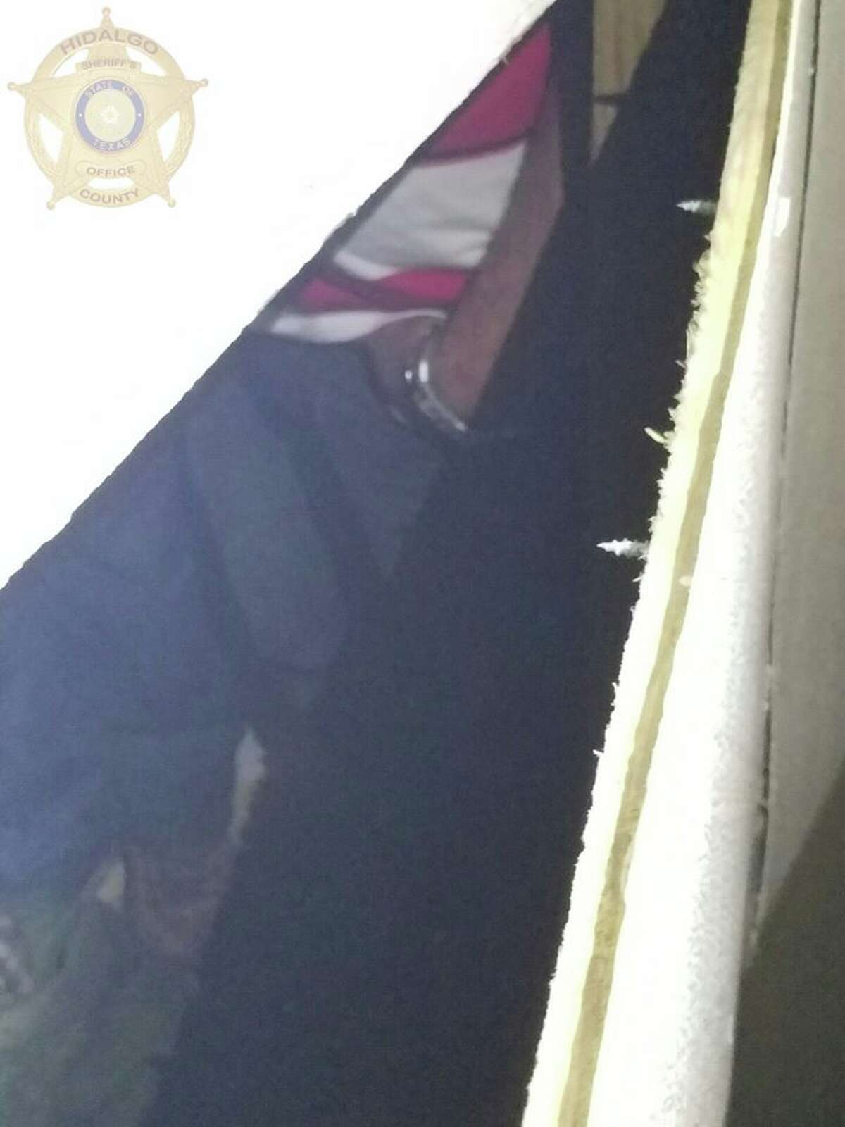 On Thursday night, U.S. Border Patrol agents were alerted to 25 undocumented immigrants who were found behind a false door on a tractor trailer in Edinburg, according to theHidalgo County Sheriff's Office.