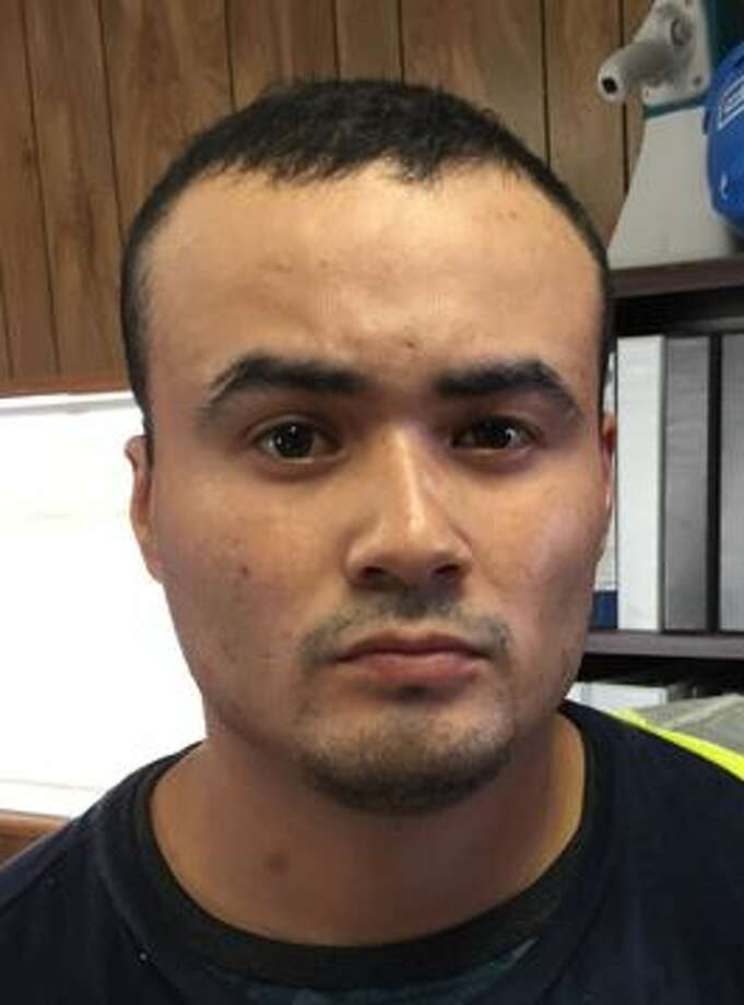 Elmer Tinoco-Eutimio, 22, was arrested on Thursday after a year on the run. He is wanted for his alleged role in the death of his grandma who said Tinoco-Eutimio hit her over the head with a hammer. Photo: Lone Star Fugitive Task Force