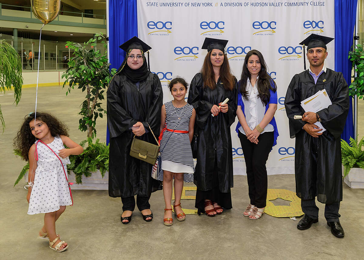 Were you Seen at the 50th Annual Capital District Educational Opportunity Center EOC graduation Thursday, June 30, 2016, at Hudson Valley Community College's McDonough Sports Complex?