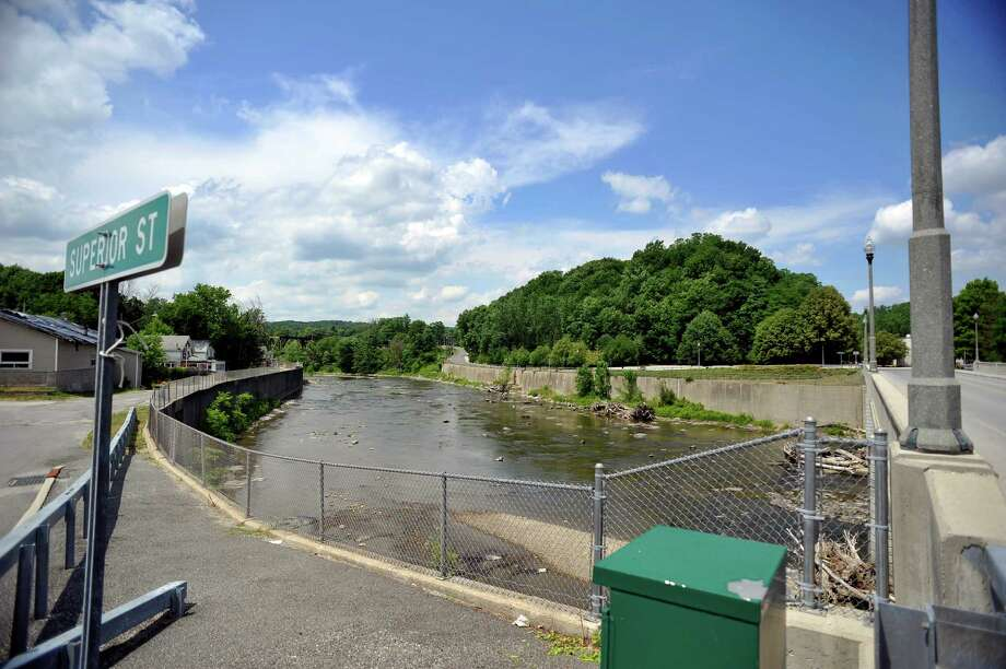 A view of the Hoosic River on Tuesday, June 28, 2016, in Hoosick Falls, N.Y.    (Paul Buckowski / Times Union) Photo: PAUL BUCKOWSKI / 40037143A