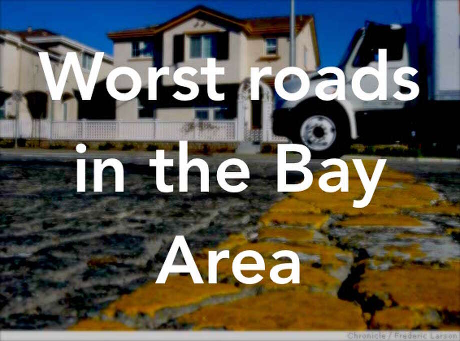 MTC,  the region's transportation agency, looked at 43,000 miles of local  streets and roads and determined the average score for a Bay Area  boulevard was 67 out of 100 in 2015. That's up from 66 in 2014, so  things are improving slightly.