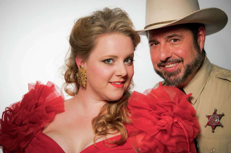 "Sara Brookes and Bob Galindo star in The Playhouse San Antonio's production of ""The Best Little Whorehouse in Texas."" Photo: Siggi Ragnar, Courtesy Siggi Ragnar / sRagnar Fotografi"