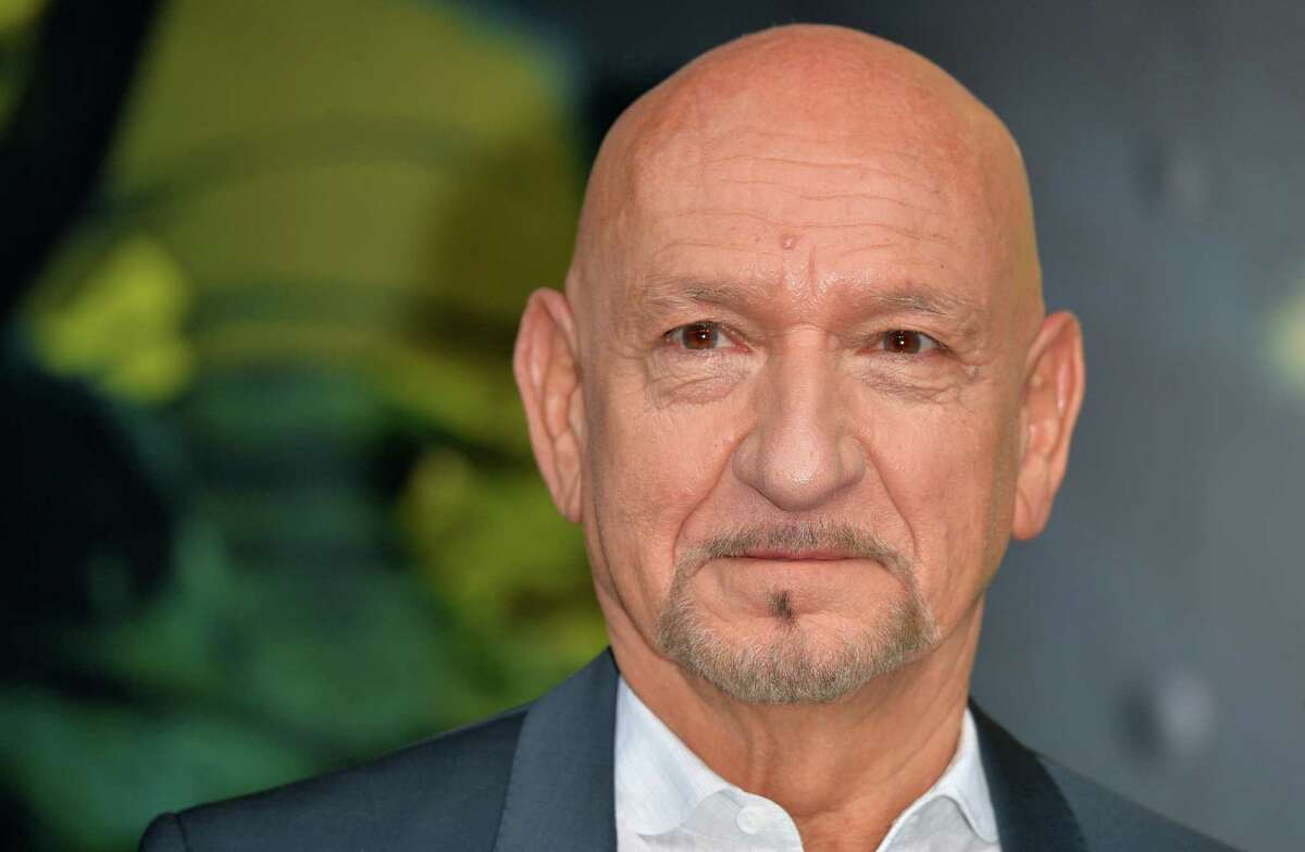 """LONDON, ENGLAND - APRIL 13: Sir Ben Kingsley arrives for the European premiere of """"The Jungle Book"""" at BFI IMAX on April 13, 2016 in London, England."""