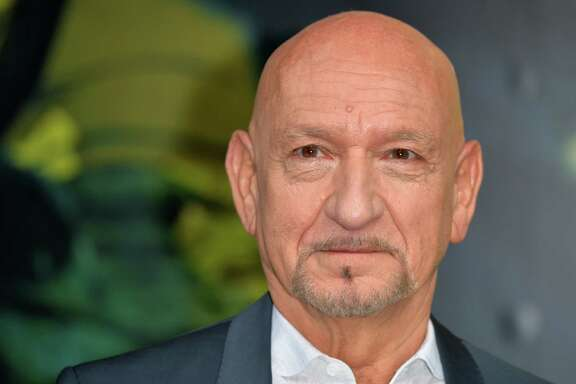 "LONDON, ENGLAND - APRIL 13:  Sir Ben Kingsley arrives for the European premiere of ""The Jungle Book"" at BFI IMAX on April 13, 2016 in London, England."
