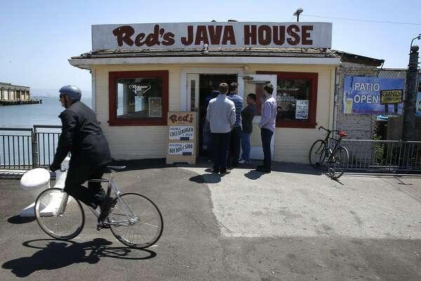 Red's Java House along the Embarcadero in San Francisco, California on Fri. July 1, 2016.