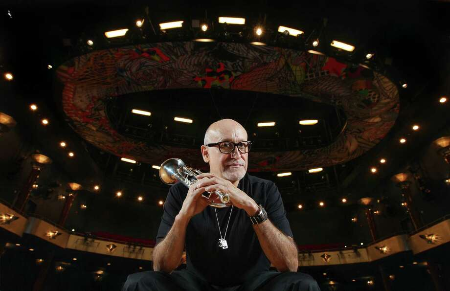 Noe Marmolejo, head of the University of Houston jazz studies program poses for a portrait in Moores Opera Center Friday, May 27, 2016, in Houston.   ( Steve Gonzales  / Houston Chronicle  ) Photo: Steve Gonzales / © 2016 Houston Chronicle