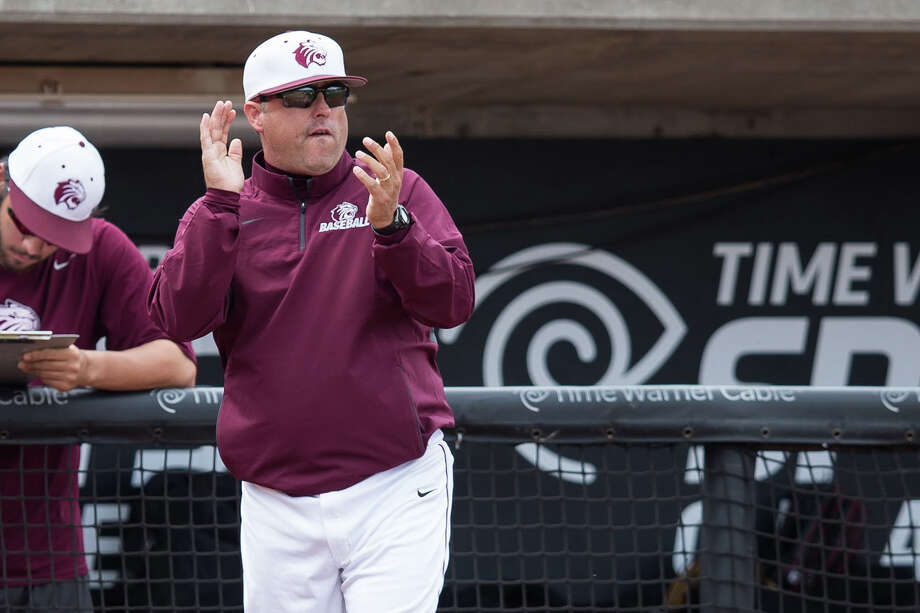 Trinity baseball coach Tim Scannell led the Tigers to the 2016 Division III national championship. Photo: Courtesy Photo /Trinity Athletics