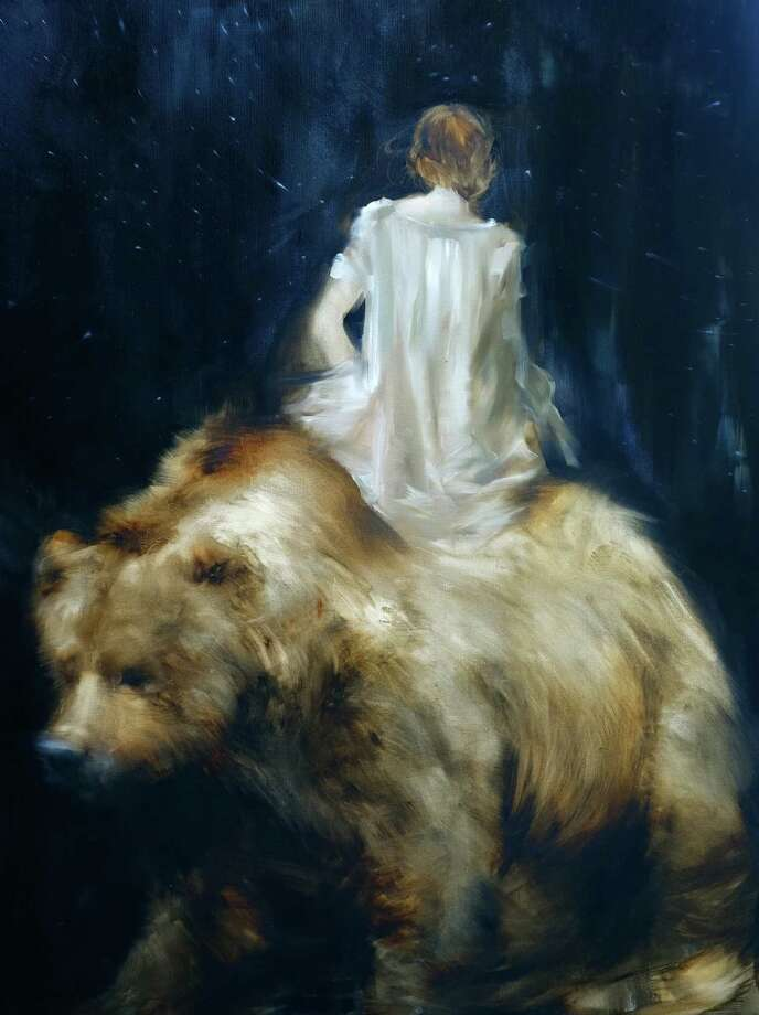 Night of the Animals by Bill Broun Photo: Painting By Sarah McRae Morton, Oil On Canvas, 2015. Www.McRaeMorton.com
