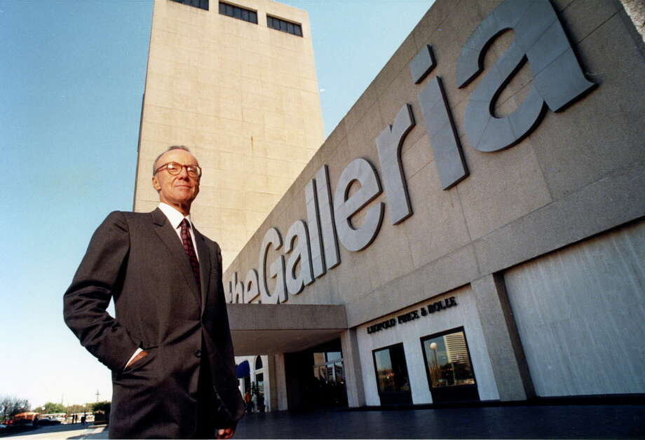 Hines' most iconic Houston buildingsThe GalleriaOpened: 1970Location: Post Oak Boulevard and Westheimer RoadSize: 3 stories, 788,000 square feetArchitect: Hellmuth, Obata & Kassabaum Photo: Bruce Bennett, © Houston Chronicle / Houston Post files