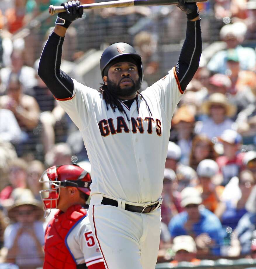 Johnny Cueto will not get to bat in the All-Star Game, but he should make the National League team as a pitcher. Photo: George Nikitin, Associated Press